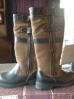 Rydale Malham Zip Country Boots Size 4