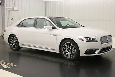2017 Lincoln Continental RESERVE REAR SEAT PACKAGE AWD NAV SUNROOF 30 WAY SEATS RECLINIG REAR MASSAGING SEATS VOICE NAVIGATION LEATHER SYNC3
