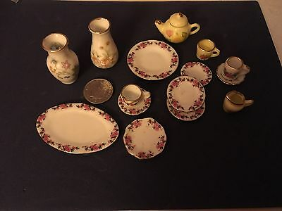1/12th Scale mixed lot of dolls House China