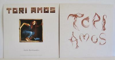 "Tori Amos Little Earthquakes 1992 12"" x 12""  (2) LP  Promo only Display Flats NM"