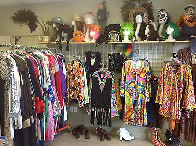 Costume Shop Inventory & Fixtures for Sale