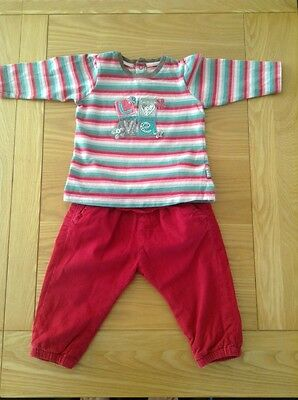Baby Girl 6/9 Months. Zara Trousers And Pumpkin Patch Top