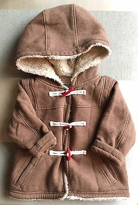 Baby Boden Unisex Duffle Style Coat Age 6-12 Months