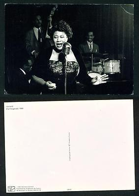 Real People – Ella Fitzgerald – Pc Printed In France  Unused