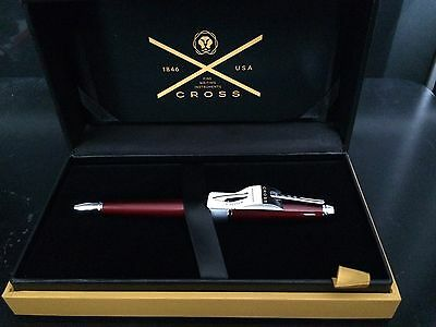 Cross Red Apogee Lacquer Finish Ballpoint Pen (Weddings,Graduation,Gift)