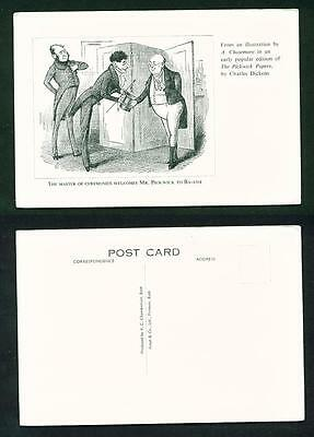 Literary – Illustration By A. Chasemore Of The Pickwick Papers – Unused