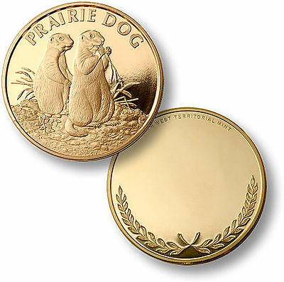 Engraveable Proof-Like Coin: PRAIRIE DOG