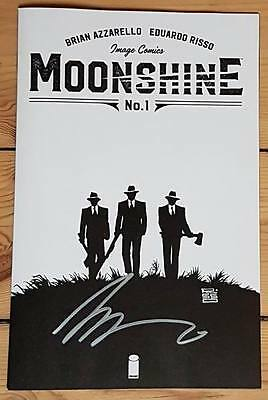 Moonshine Brian Azzarello SIGNED B&W Only 500 copies NYCC Exclusive Variant