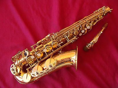 Yamaha Yas 62 Professional Sax In Excellent Play Condition  With G1 Neck