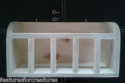 Pine Plywood Hutch Hay Rack/manger For Guinea Pig,rabbit