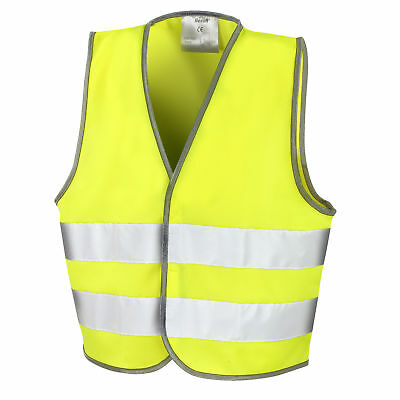 Result Core Kids Unisex Hi-Vis Safety Vest