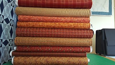 Gorgeous American Flannels - 100% Cotton Flannel Soft And Warm - Rusts