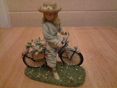 The Bicycle Ride byChristine Haworth Paintbox Poppets Leonardo Collection