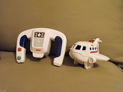 Fisher Price Geo Trax  White Airplane Without Pilot