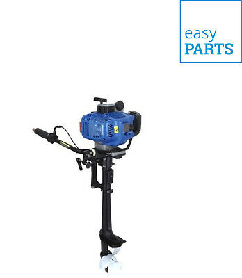 New Professional 5.8 Hp Outboard Engine 2 Stroke Motor Light Inflatable Engine