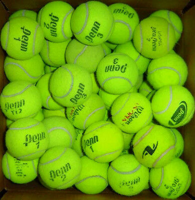 50 Used Tennis Balls...All Brand Name... Free Shipping