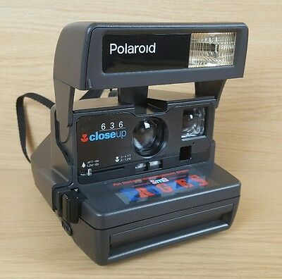 Polaroid 636 Close Up Instant Film Camera With Flash Fully Working