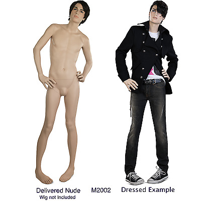 Style M2002 Male Mannequin by Hans Boodt Incredibly 'Realistic' buy now . . .