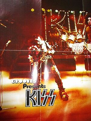 Kiss Poster Came As Part Of A Kiss Collection