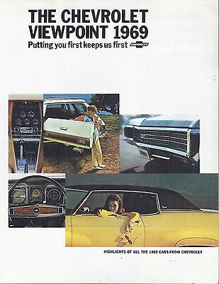 1969 Chevrolet Viewpoint Sales Brochure