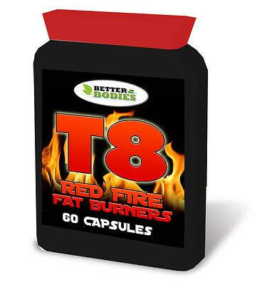 T8 Fat Burners 60 Diet Weight Loss Slimming Pills Tablets Strongest Legal