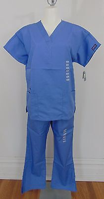 Authentic Nwt Cherokee Blue Women's Scrubs Size Xs/s        (A7705)