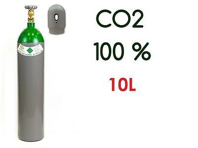 NEW CO2 100% gas FULL Bottle Cylinder 10 Liter 200 Bar Pure Welding Gas