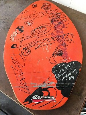 """SKIMBOARD By Bazoom 30""""x19"""" Wooden. Fair Condition B20"""