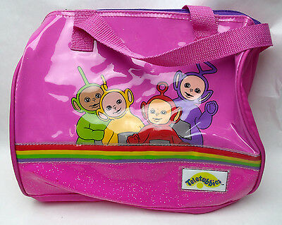 Teletubbies Pink Zipper bag Vinyl Bag