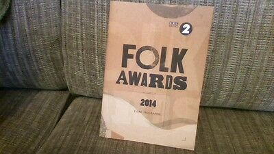 Folk Awards Programme 2014