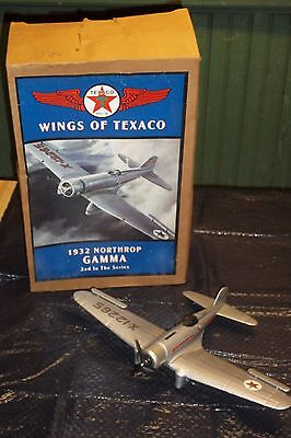 Wings Of Texaco 1932 Northrop Gamma 2Nd In Ser. In Box