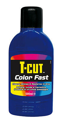 LCF504 Color Fast cleans glossy e restores the Color 500 ml Dark blue 1pz