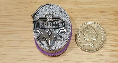Wwe Wrestlemania Pin Badge Exclusive