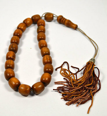 Olive Tree Worry Beads Handmade Greek kompoloi-Traditional cultural accessory