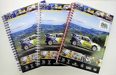 Wales Rally GB  2006 Competitors Road Book Set 1/2/3