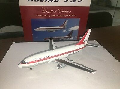 Inflight 1/200 Boeing 737-200 House Colour 40th Years Airlines Diecast Model
