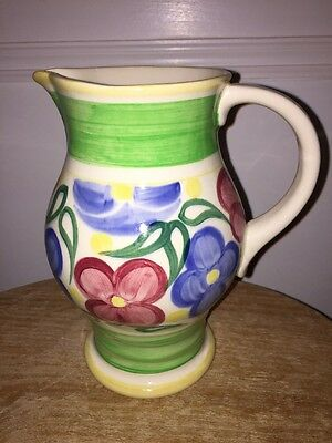 Vintage Royal Doulton  Lambeth Faience Jug/vase 1900-1930 Perfect Condition