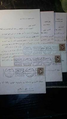 Egypt Old Covers With Lovely Letters
