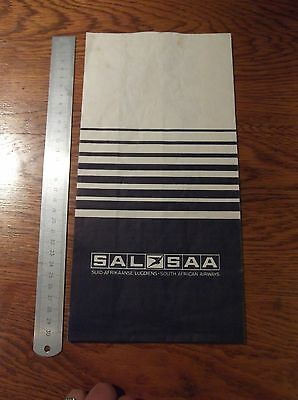 South African Airways Saa Sal Vintage Sick Bag - Barf Bag