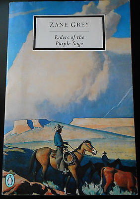 Riders of the Purple Sage by Zane Grey (Paperback, Penguin 1990) - good