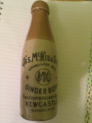 Jas Mckie And Sons Ginger Beer Bottle
