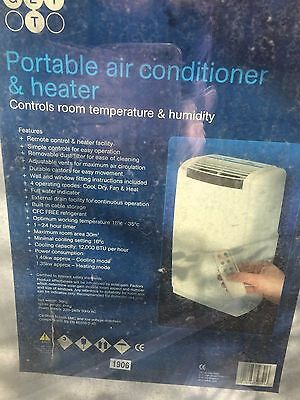 Portable air conditioner & heater
