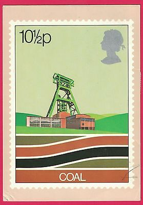 1978 Scott #828 Coal Pithead PHQ Card First Day Of Issue FDI