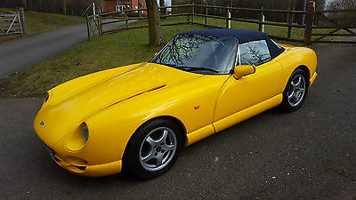 1997 TVR Chimaera 450 Camel yellow. FSH, Outriggers, Cam replaced.