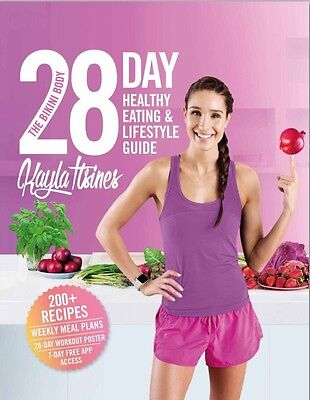 Kayla Itsines The Bikini Body 28 Day Healthy Eating & Lifestyle Guide E-version