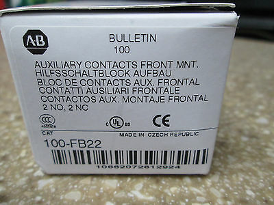Allen Bradley 100-Fb22 Series B Auxiliary Contact Block