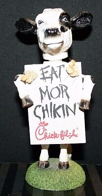 Chick-fil-A Cow Bobblehead RARE (out of box)