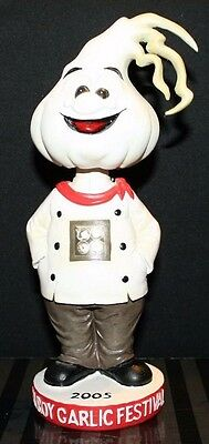 Gilroy Garlic Festival Herbie Bobblehead RARE (out of box)