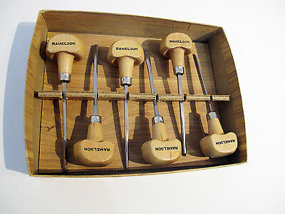 Ramelson Basic Wood Carving Set - New - Open Damaged Box