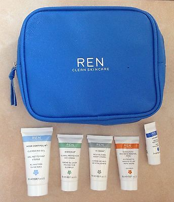 Trousse beauté REN Discovery Kit + Soins - Clean Skincare - NEUF